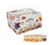 Border Mini Pack Biscuits - Case of 100 Individually Wrapped Packs (2 Biscuits per Pack)